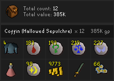 Hallowed Sepulchre loot tracking